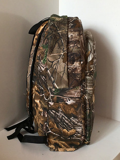 Brown Canvas Outdoor Bionic Camouflage Shoulders Backpack Bag