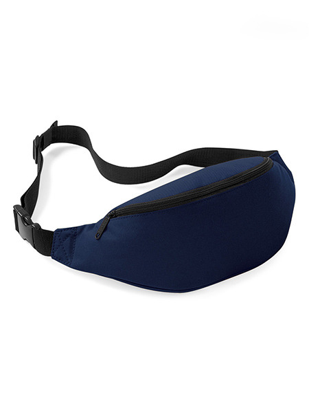 Navy Blue Nylon Outdoor Multi-Function Fanny Pack Bag