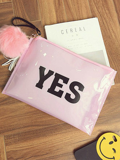 Pink Patent Leather Cute Evening Clutch Purse Bag On Sale