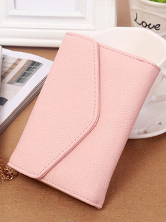 Pink Leatherette Cute Evening Purse Clutch Bag On Sale