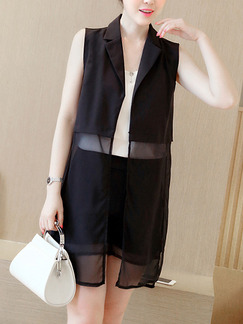 Black White Three Piece Shirt Shorts Plus Size Jumpsuit for Casual Party Evening Office