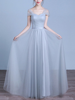 450da4f4cce Blue Off Shoulder Maxi Plus Size Dress for Prom Bridesmaid  DRESS.PH ...