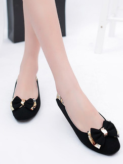 Black and Gold Suede Round Toe Low Heel Chunky Heel Heels