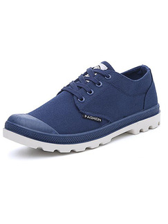 Pasabuy Blue and White Canvas Comfort  Shoes for Casual Office Work