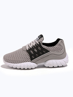 Pasabuy Grey and White Canvas Comfort  Shoes for Casual Athletic