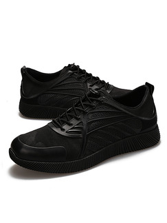Black Canvas Comfort  Shoes for Casual Athletic Outdoor Work