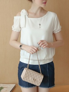 b5e16ba968d0e White Blouse Plus Size Top for Casual Office Evening  DRESS.PH ...