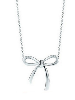 925 Silver With Chain Silver Chain Ribbon Necklace