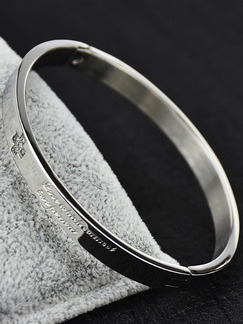 Silver Plated Statement Rhinestone Bangle