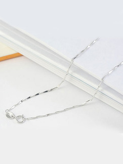925 Silver With Chain Silver Chain Necklace
