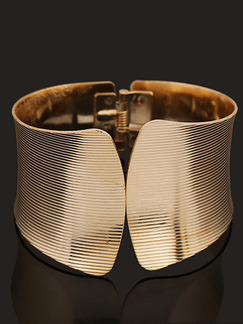 Gold Plated Cuff  Bangle