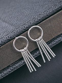 925 Silver Dangle  Earring