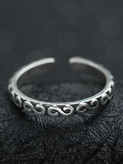 925 Silver Open  Ring