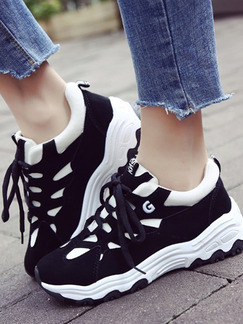 87e09a06181 White Black and Grey Leather Round Toe Lace Up Rubber Shoes DRESS.PH ...