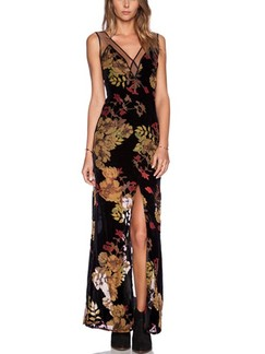 Black and Yellow Colorful Maxi V Neck Plus Size Dress for Cocktail Prom