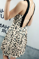 Leopard Slim Open Back Above Knee Halter Dress for Casual Party Nightclub