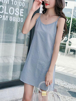 Light Purple Slim Grid Mesh Two-Piece Midi Dress for Casual Party