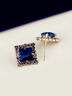 Rhinestone and Alloy Stud