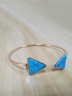 Alloy and Plastic Bangle