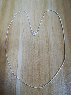 Silver Plated Silver Chain Necklace