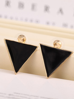 Alloy Triangle Stud
