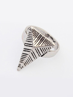 Triangle Alloy Ring