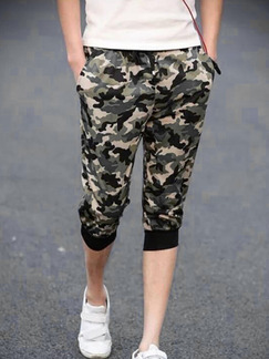 Camouflage Loose Harlen Shorts Men Shorts for Casual