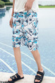 Colorful Loose Printed Men Shorts for Casual Beach