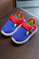 Blue Red and White Polyester Comfort Boy Shoes for Casual Party