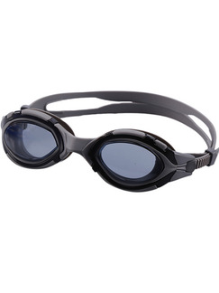 Black and Gray Sport Goggles for Swim