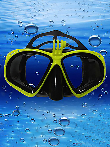 Yellow Goggles for Snorkeling