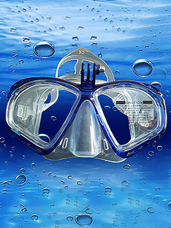 Blue Goggles for Snorkeling