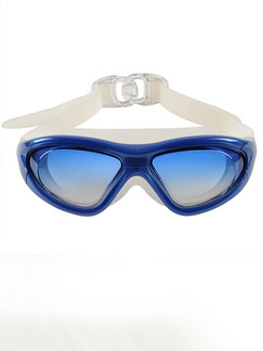 Blue Sport Goggles for Swim