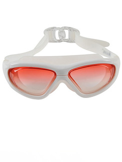 White Sport Goggles for Swim