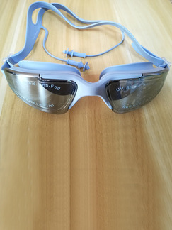 Grey Sport Goggles for Swim