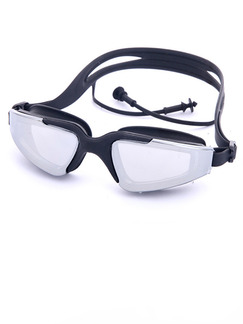 Black Sport Goggles for Swim