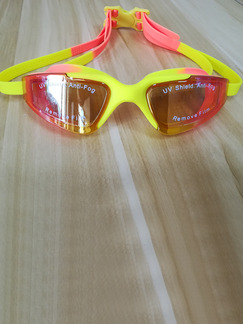 Yellow Sport Goggles for Swim