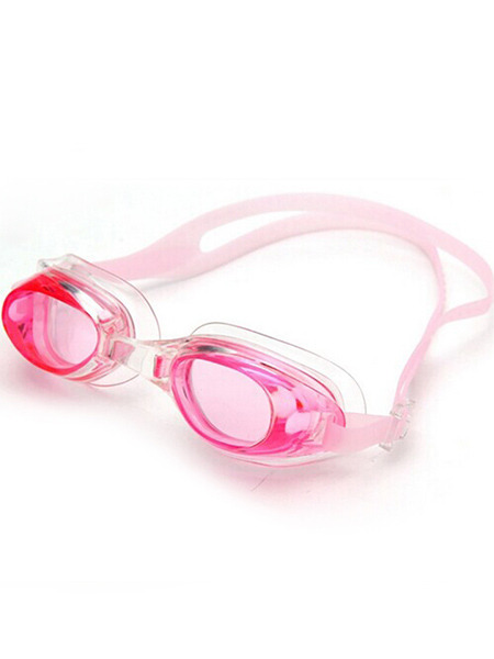 Pink and White Sport Goggles for Swim