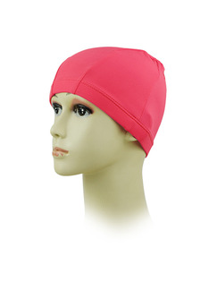 Red Women Cap Swimwear for Swimming Snorkeling