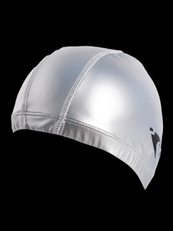 Silver Adults Unisex Paint-Coat Obscure Cap Swimwear for Swimming