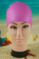 Pink Women Waterproof Cap Swimwear for Swimming