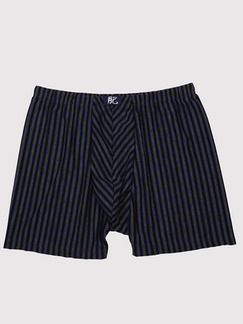Black Stripe Boxer Brief Cotton Underwear